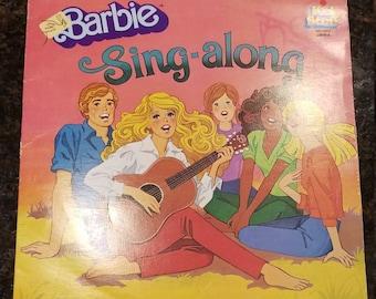 Barbie Sing-along Vinyl Kid Stuff Records