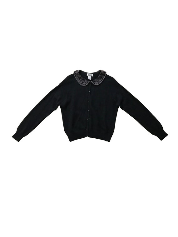 Peter Pan Collar Sweater Top