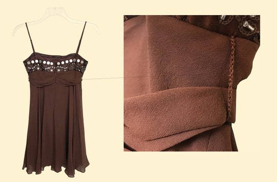 90s Silk Slip Dress - image 6