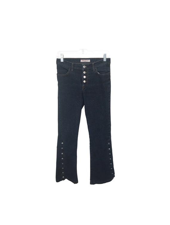 90s Miss Sixty Denim Flare Pants