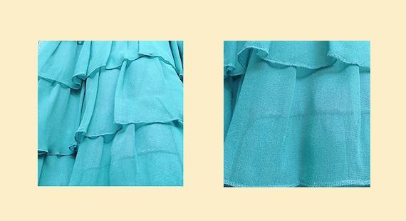 90s Tiered Slip Dress - image 4