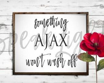 something ajax won't wash off digital download