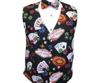 Casino Royale Tuxedo Vest and Bow Tie