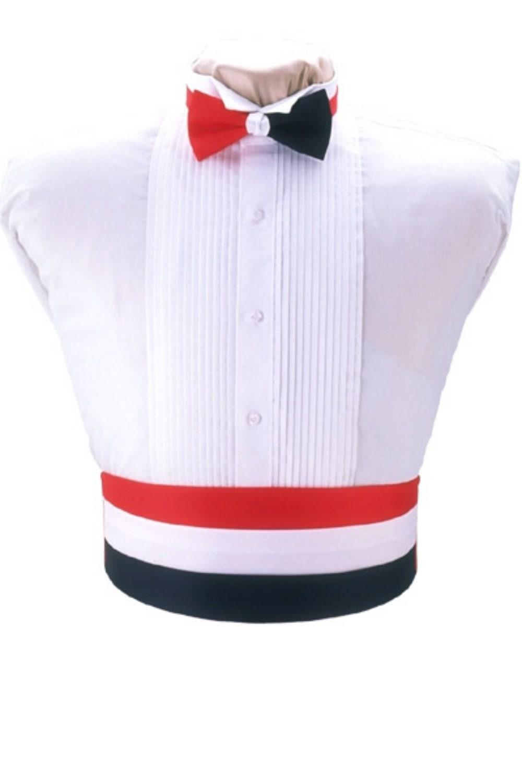 Mickey Mouse Smiley Faces Tuxedo Cummerbund and Bow Tie Set