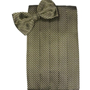 Venice Wine Tuxedo Cummerbund and Bow Tie Set