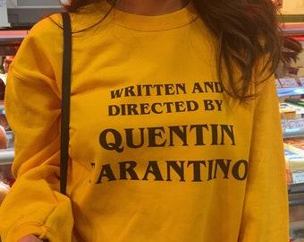 7efa4dd50d49f Vintage Kill Bill Written and Directed by Quentin Tarantino Crewneck Sweater