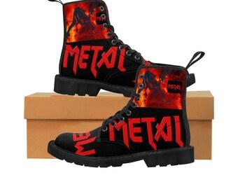 40f360f4dea Heavy metal boots | Etsy