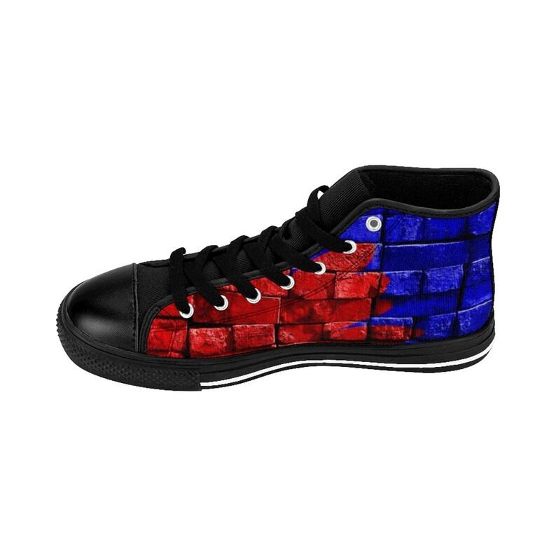 SNEAKERS High Top Sneakers Art Brick WomenS High Top Sneakers 2QcCImXn