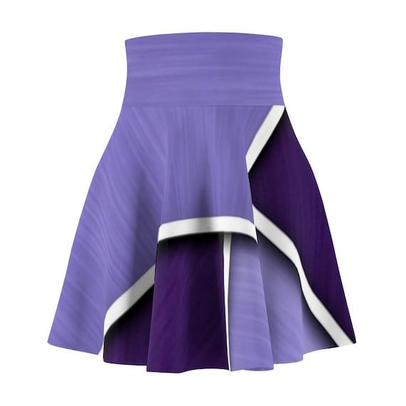 Women/'s Skater Skirt Psychedelic Swing Skirt Streetwear Skirt Custom Made