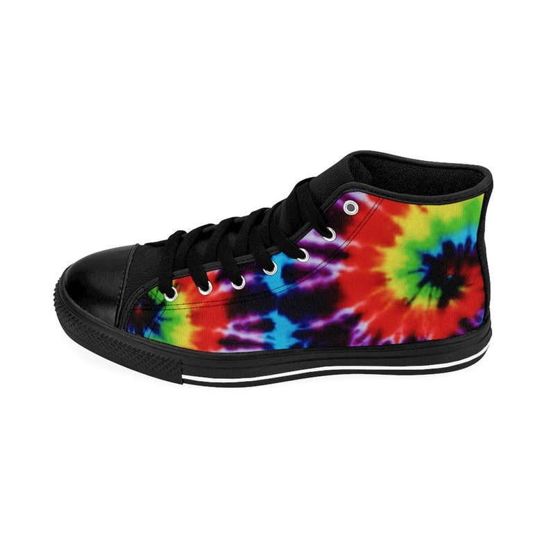 Sneakers TIE DYE Donna High-top Sneakers Tie Dye RAINBOW I3f2hvR1