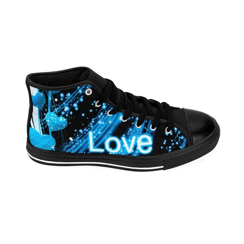 Sneakers BLU Donna High-top Sneakers Love Hearts Sneakers pGHRjBQ0