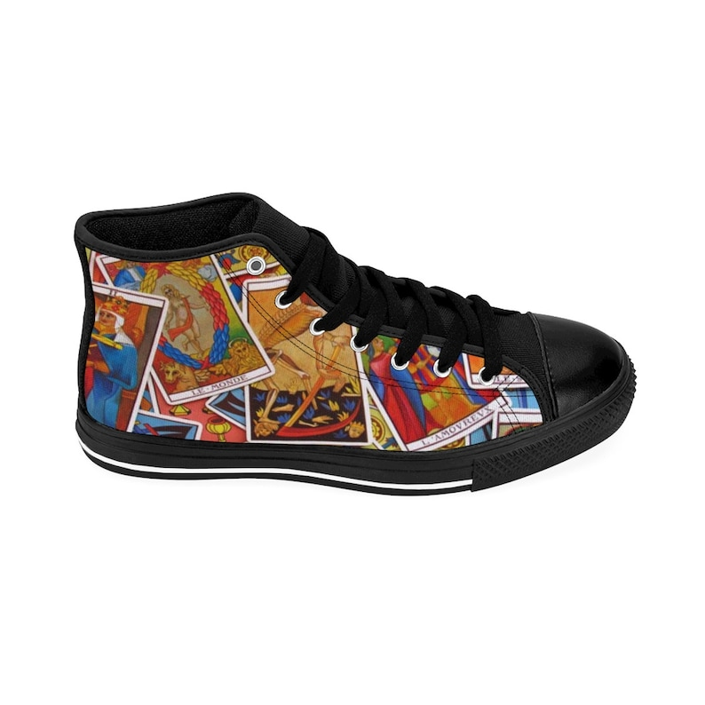 HIGH TOP SNEAKERS Tarot Cards Sneakers WomenS High Top wPZFNsrC