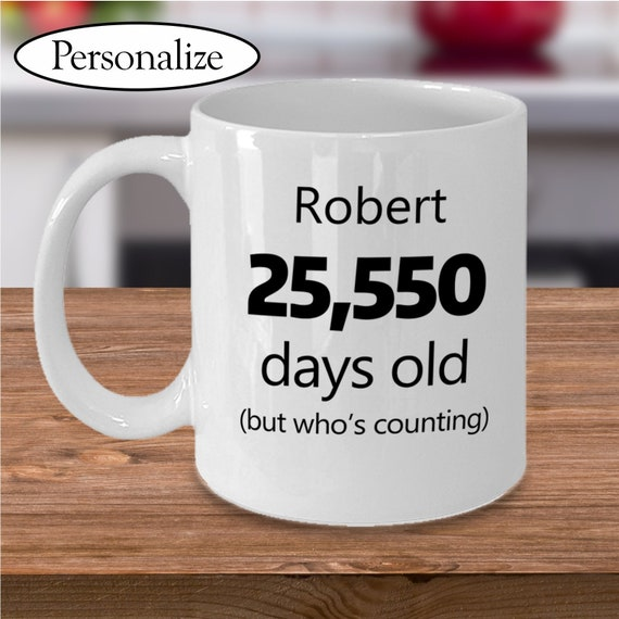70th Birthday Gag Gift For Men Or Women Personalized Funny Birthday Mug 70 Years Old 70th Bday Born In 1949
