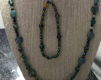 Full Glass Jewelry Set