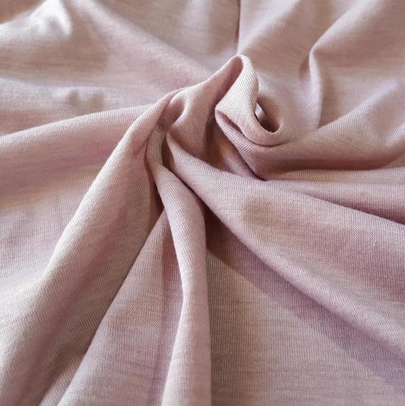 oben Rayon spandex knit fabric, light purple heathered, one yard solid knit fabric rayon blend fabric lycra fabric modal fabric spandex  billig