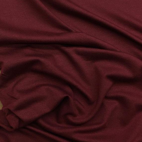 ad1ede025a7 Modal spandex jersey wine . Solid stretch knit . Medium | Etsy