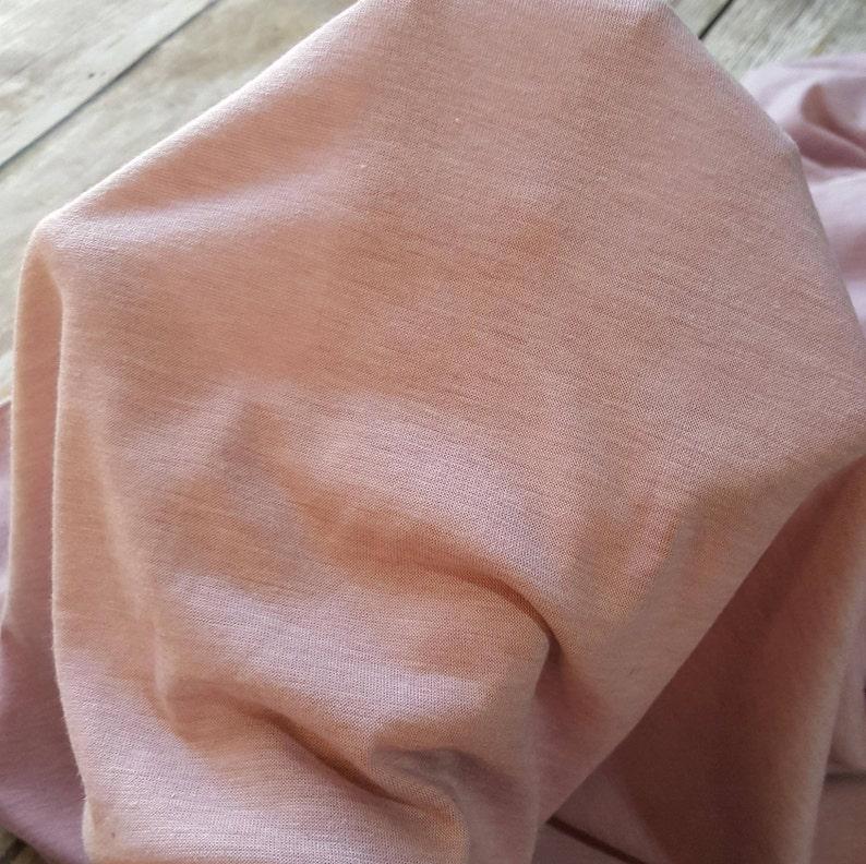e77c216cffa Rayon spandex knit fabric light purple heathered one yard | Etsy