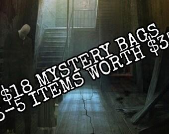 Bone, skulls, and oddities mystery bag