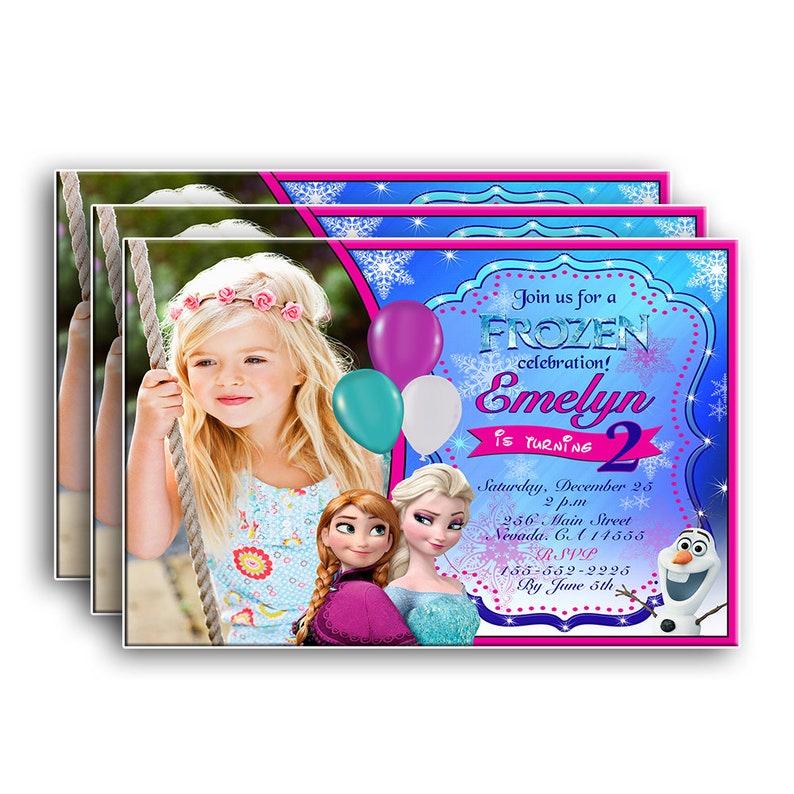 Frozen InvitationFrozen BirthdayFrozen Birthday PartyFrozen Party