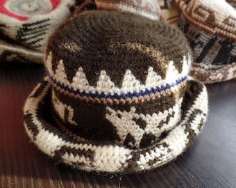 Bolivian Knit Wool Hat 7d698cfd35d