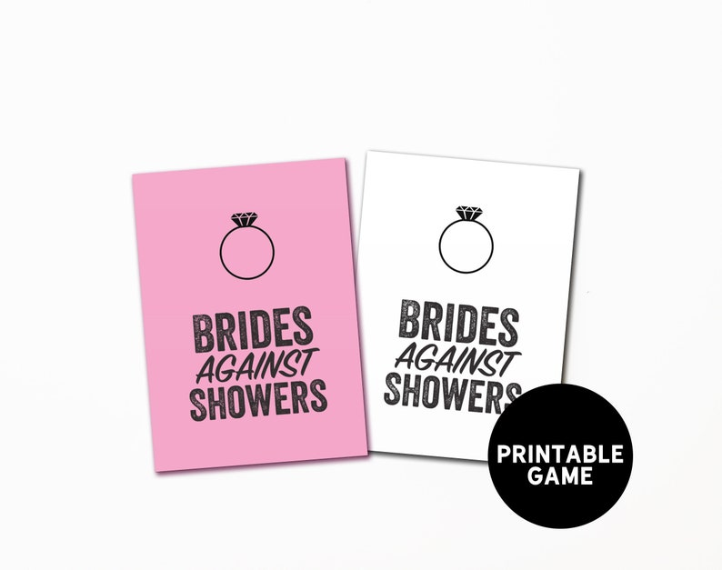 graphic about Cards Against Humanity Printable named Bridal Shower Match, Bridal Shower Playing cards Towards Humanity, Amusing Wedding day Shower Activity, Marriage ceremony Playing cards In opposition to Humanity, Printable Shower Activity