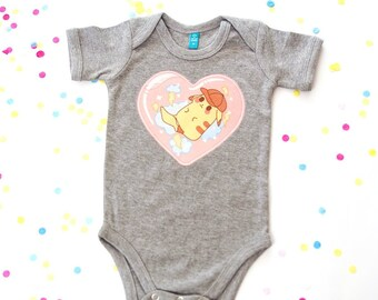 e2a35613e Pikachu baby, Pokemon baby costume, organic baby clothes summer, body suit  cotton All In One, girl, boy, pijama,anime, otaku, baby shower