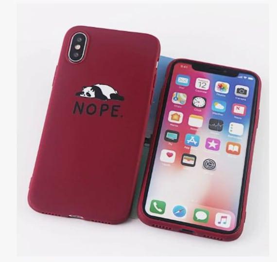 coque iphone 7 nope