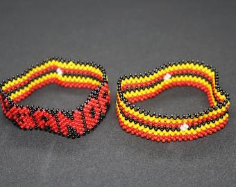 Handmade Fair Trade Traditional Bracelet from Uganda Authentic African Bangle Bracelet