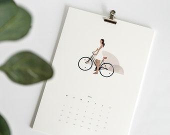 Calendar 2021 with added value (postcard calendar)