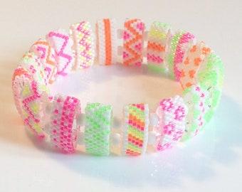 Happy Bangle Component Pack - White / Luminous
