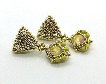Regal Earrings -  Turorial Only