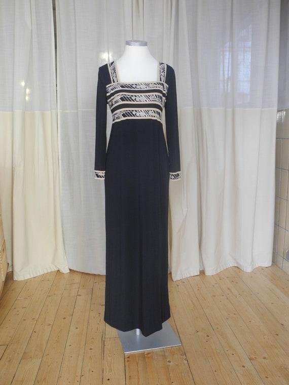 Kleid schwarz Leonard Paris