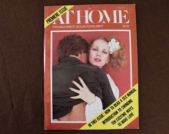 At Home Magazine from 1977, Premiere Premier issue