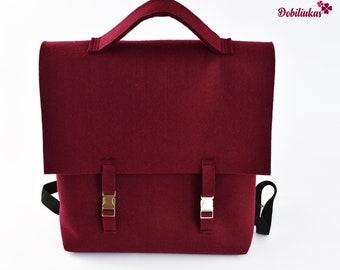 7b808cee5e Felt backpack
