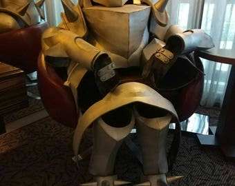 Full Metal Alchemist Alphonse Elric's Armour Cosplay (feet only)