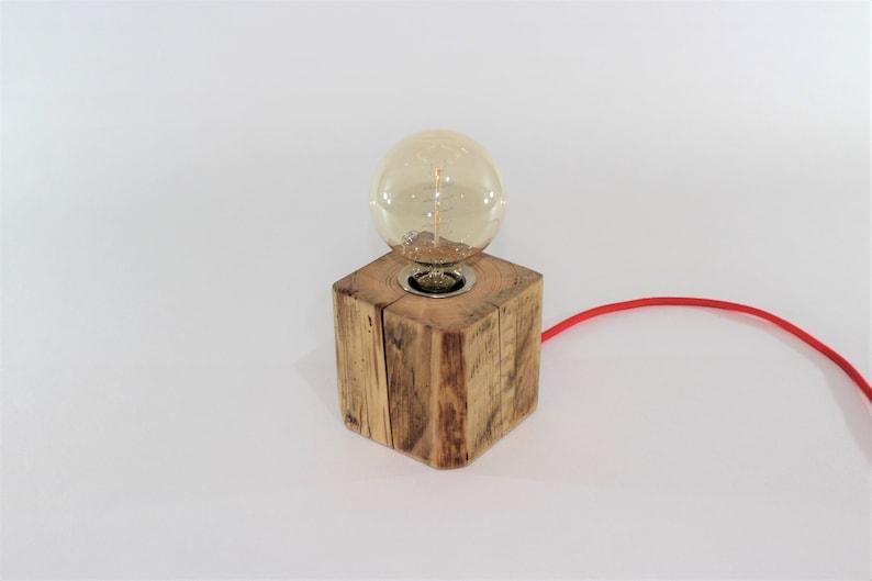 lignum Table lamp wood lamp