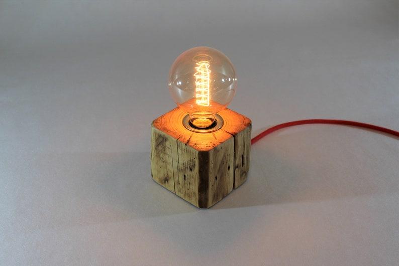 Lampada in legno LIGNUM lampada da tavolo BzBv029S