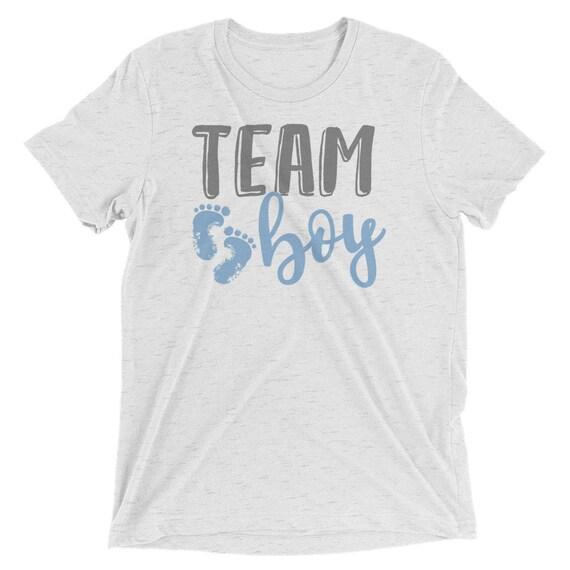 Baby Reveal Boy Shirt Gender Team T Shower 0wXqgCU