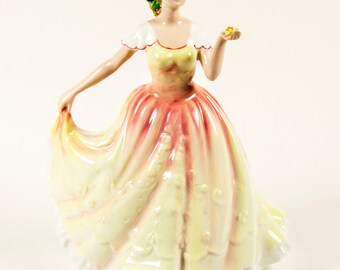 "Royal Doulton Porcelain ""Deborah"" Figurine of the Year 1995 - MINT"