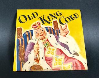 Pop Up Nursery Rhyme Book Card~~Vintage from 1930~~Old King Cole~~Geraldine Clyne NY