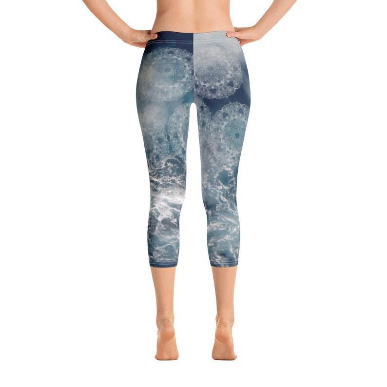Gale Capri Leggings Yoga Leggings Storm Leggings Sky Pants Women/'s Leggings Quality Capri Leggings FlyDesignStore