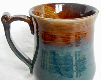 Large 20 oz Coffee Mug - Handmade Pottery