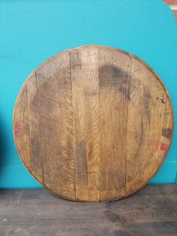 Blank bourbon barrel wall decor | Etsy