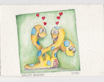 Love Yourself - Original Watercolor