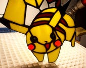 Pikachu Stained Glass