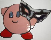 Stained Glass Kirby Persona 5 Joker Mask