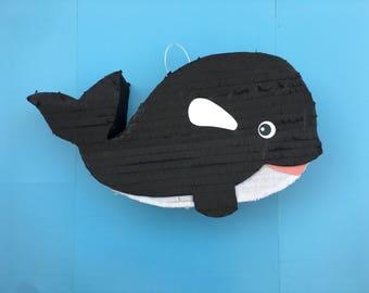 ORCA WHALE PINATA Custom Pinata Killer Whale