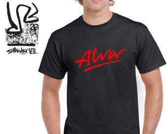 f7aed84b21 Alva Skateboards Retro T-shirt Classic Fit or Slim Fit Sizes S-2XL  Stiffneck Dogtown Bones Hawk Thrasher Hosoi Sims Z Flex Indy Trucks Baker