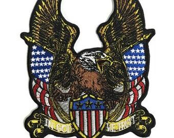 Patch l American Bald Eagle