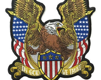 Large Back Patch l American Bald Eagle